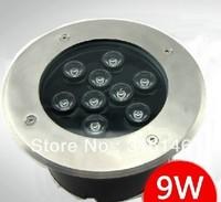 DHL free shipping dia.170mm 220V 9X1W 9W waterproof IP65 Led Underground light led inground light buried light garden light