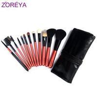 Zoreya 12 brush set loose powder brush blush brush make-up cosmetic tools cosmetic brush set