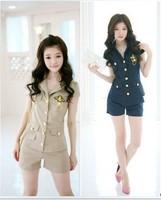 Ds costume fashion clothes uniform navy suit school wear temptation