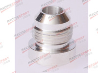 AN -4 ( AN4 -4AN 04 ) Male Aluminium Weld plug Fitting Round Base AD35002