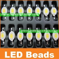 SALE Led beads Super bright 110-120LM/W 1W led lamp with Red/GREEN/BLUE/White/Warm White color 3 years Warranty