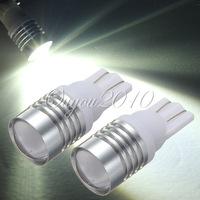 2pcs/lot T10 W5W 7W LED Cree Q5 Wedge Car Reverse Backup Light Lamp Bulb DC12V White Free Shipping Wholesale