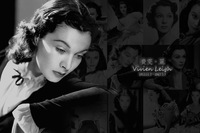 FREE SHIPPING!!!Hollywood classic nostalgia series postcards/Vintage postcards/100*140mm/12 pieces per set/Vivien Leigh