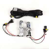 good quality   H4/9003 BIXenon bulbs lamp  Hi Lo beam  fit for toyota hilux  2008-2012 hid lamps h4 p43t   auto conversion lamp