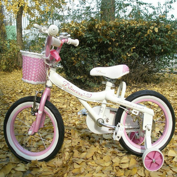 Q q kids bike ultra high pk jenny princess