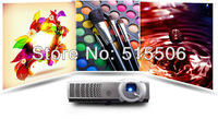 Full HD 3D Ready active shutter DLP projector,4500ANSI dlp video game proyector free shipping