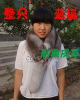 Fox muffler scarf cape fur accessories women's scarf fox genuine leather