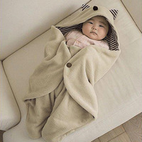 Baby blankets holds baby bag cloak newborn autumn and winter thermal sleeping bag