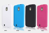 Free shipping  for ZTE  Blade 3 III ZTE V889M TPU soft  silicon Non-slip shell case  dirty resistant protective mobile case