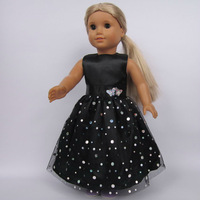 "Free shipping!! Doll Clothes dress  fits for 18"" American Girl Doll, girl birthday present gift  AGC-019"