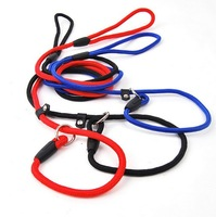 Free Shipping  high-quality nylon dog training supplies easy to pull pet traction rope