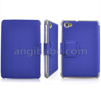 "Wholesale 30pcs high quality 7.7"" Stand PU Leather Case Cover for Samsung Galaxy Tab P6800 P6810"