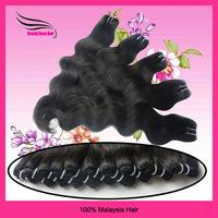 DHL free shipping virgin Malaysian hair Queen hair products body wave,Grade 5A, mix length, cheap than luffy hair