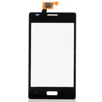 Touch Screen Digitizer Replacement For LG Optimus L5  E610 Black B0237