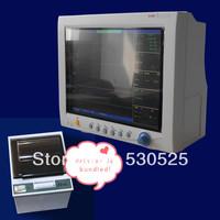 *Printer is Bundled!!!* CMS7000 5 Multi-Parameter ICU Patient Monitor,Vital Signs Monitor,ECG +  NIBP + SPO2  + RESP + TEMP