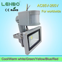 Big discount !  240V 10W/20W/30W/50W PIR LED Flood light White Warm Floodlight Motion Sensor A85V-265V LW42