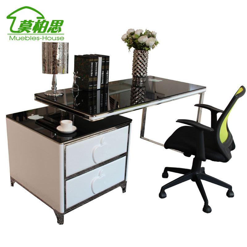 Computer table koop goedkoop computer table van chinese computer table leveranciers bij angela - Meubilair zwarte keuken lak ...