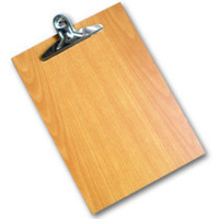 5PCS/Lot, A4 clip board multifunction file folder writing board plank plywood Free shipping