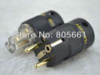Hi End Audio ACROLINK FP-02Eu + FC-15 Gold Plated EUR SCHUKO Power Connector CD POWER PLUG