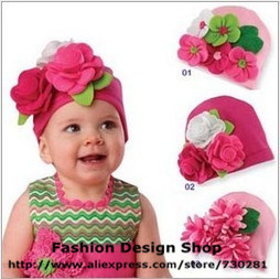 New arrival 1lot of 5pcs Cute lace flower  hari accessories headbands for baby girls free shipping CZR096