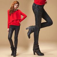 Женский пуловер cotton white red long-sleeve sweater shirt women underwear new fashion 2013 autumn winter drop shipping