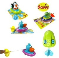 Hot sale Free shipping cute baby bath toys swim Sassy bathroom water swim toy Penguin/Pelican/Dinosaur inspire exploration