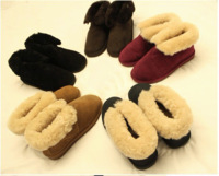 Drum drum all-match suede wool thermal home outdoor lovers snow boots cotton boots free shipping