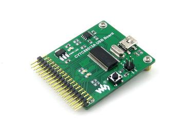 [ Communication Module ] Free Shipping !!! CY7C68013A USB Mini Communication Embedded 8051 Microcontroller Development Board