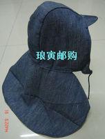 Labor supplies safety cap working cap cape cap mantissas hat