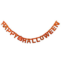 Halloween supplies bar decoration props happyhalloween letter garland