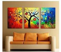 40*60cmx3p(16*24inchx3p) ,100% Handmade Modern Oil Painting On Canvas Wall Art ,Top Home Decoration Free Shipping