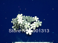 Flower Acrylic mirror sticker, 1cm diameter, 1mm thick, 1000pcs/package, free shipping