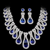 Chain sets piece set NEOGLORY accessories 2 zirconocene the bride wedding dress wedding dress jewelry set necklace