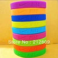 2013 hotsale wristband silicone bracelet   202*12*2mm size 9pcs/lot  free shipping