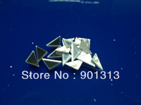 Triangle Acrylic mirror sticker, 1cm diameter, 1mm thick, 1000pcs/package, free shipping