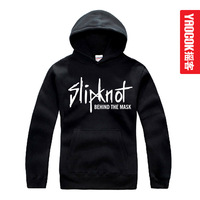 Free shipping Slipknot design loose long plus size fashion with a hood sweatshirt