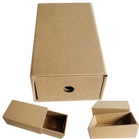 Free shipping HIGH QUALITY! wholesale 50pcs/lot 170*100*65MM Corrugated Paper Drawer Box