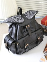 2015 HARAJUKU amo ayumi colorant match wings three-dimensional women's Handbags