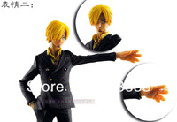 Japan Anime Figma One Piece Sanji Action Figure Display Model Toy 16cm free shipping