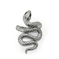 New! Wholesale Free shipping 925 silver ring / 925 silver Unique  snake ring size adjustable THSR57A