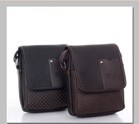 Free shipping hot sales 2013 fashion Men's bags briefcase.leather bags Men's shoulder bags genuine leather 1 pce wholesale.NB776