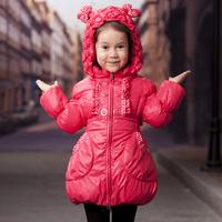 New 2013 winter Westphal female child female goat down jacket 2278 children