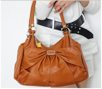 hot sales 2013 New fashion woman bag handbag fashion shoulder leather handbag 1 pce wholesale JH-TB36  Free shipping