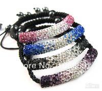 Disco Ball Bracelets Bangle Crystal Beads Bracelets Good Bling Hematite Beads Bracelet