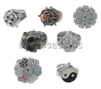 Free shipping!!!Watch Finger Ring,australian, Zinc Alloy, 20-30x26-31x8.5-9.5mm, 15mm, Size:5, 10PCs/Lot, Sold By Lot