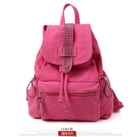 school backpacks for teenage girls 2013 canvas bookbags small travel shoulder bag