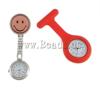 Free shipping!!!Hanging Watch,2013 Fashion, Zinc Alloy, enamel, 30-40x26-40mm, Length:3-3.5 Inch, 10Strands/Lot, Sold By Lot