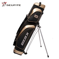 Kaze waterproof with base plate belt mount freshwater hand pole bag golf ball pole package - 1.0 meters