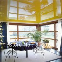 Pvc ceiling film for glossy designs