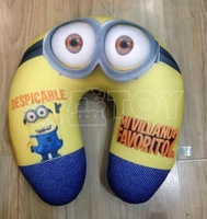 Despicable Me 2 Minions Cartoon U-shape Neck Foam Pillow Very Soft feeling Health for You Office and Cars